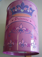2 Stück HAMA Papierkorb Metall Prinzess Prinzessin 2 Stück