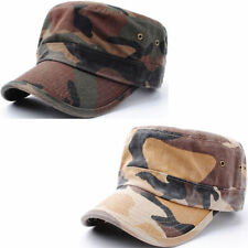 Camouflage 100% Cotton Hats for Men