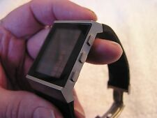 LEXON LED LCD Digital Modern Watch Design by Brieuc du Roscoat Excell Used Cond.