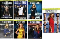 The Closer Complete TV Series All Seasons 1-7 Collection Episodes Show Bundle R1