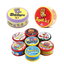 Spot it Dobble Family Friend Fun 5 Games In 1 Card Game Kids Indoor Outdoor