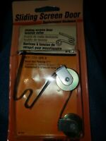 """Prime Line ~ Sliding Screen Door Tension Roller,  B-513, 2pk. 1"""" Steel Wheel"""