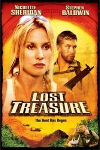 Brand New DVD Lost Treasure Nicolette Sheridan Stephen Baldwin 2003