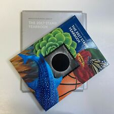 USPS 2017 Postage Stamp Yearbook & Sleeve (No stamps)