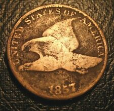 OLD US COINS Early 1857 Flying Eagle Cent Penny