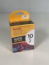 Kodak 10C 420 Colour Ink Cartridge New Sealed 394 9930