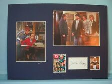 """Bob Newhart & Tom Poston in """"Newhart"""" signed by Julia Duffy """"Stephanie"""""""
