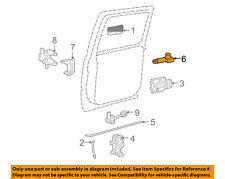 GM OEM Front Door-Lock Actuator Motor 25664288