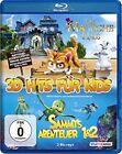 Sammys Abenteuer 1+2 und Das magische Haus / 3D Hits für Kids NEU OVP 3D Blu-ray