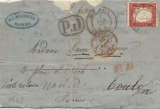 CAL146 - SARDEGNA - Sassone # 16E su lettera (L) - 1.a scelta