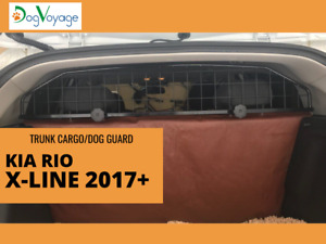 Trunk cargo / dog guard barrier for KIA RIO X-line 2017+