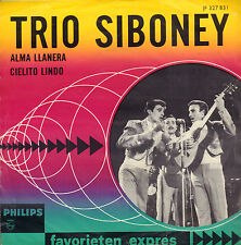 "TRIO SIBONEY - Alma Llanera (1965 FAVORIETEN EXPRES SINGLE 7"")"