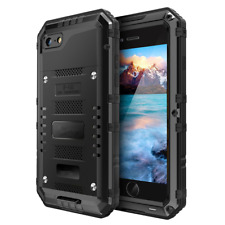 iPhone 6 Plus Metal Case, Seacosmo Full Body Military Rugged Heavy Duty Aluminum