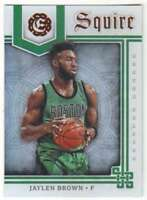 2016-17 Panini Excalibur Basketball Squire #11 Jaylen Brown Celtics