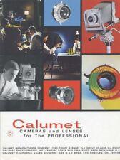 Calumet Cameras and Lenses Catalog 1969