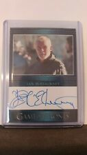 Game of Thrones Season 6 Ian McElhinney Blue Auto Card