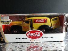 Matchbox Coca-Cola 1940 Ford Sedan Delivery Coke Van 1:18 Scale Diecast Truck