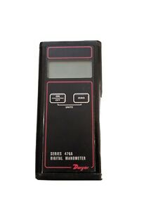 Dwyer Manometer 476a