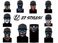 Face Balaclava Scarf Neck Fishing Shield Sun Gaiter Uv Headwear Mask 26 Styles