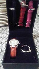ECCLISSI Sterling Silver Watch with extra bands