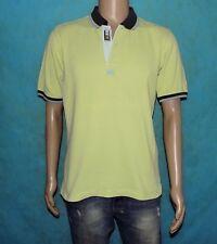 t-shirt polo LA MARTINA cotton anise Size M very good condition