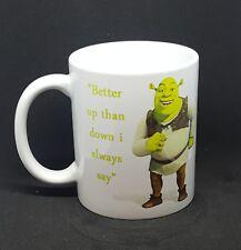 Shrek coffee mug fart rude funny novelty present free gift box disney fairytale
