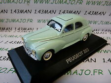 car 1/43 atlas NOREV car my father : PEUGEOT 203 green