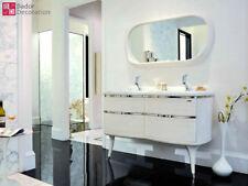Doppelwaschtisch Designer Waschtisch Luxus Marmorplatte Waschtische badmöbel Bad