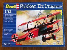 1:72 Revell Fokker Dr. 1 Triplane Aircraft Model Kit 04116 NEW