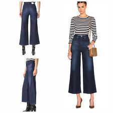 NWT ($225) AG Adriano Goldschmied The Yvette High Rise Wide Leg Ankle, Size 25