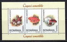 Romania 2003 MNH Mi Block 333 Sc 4595 Mushrooms