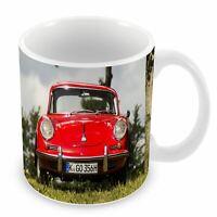 Mug Céramique Tasse Belle Voiture de Sport Porsche 911 GT Modèle en Exposition