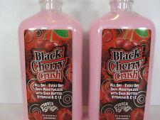 2 PACK -BLACK CHERRY CRUSH MOISTURIZER LOTION by FIESTA SUN