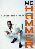 MC Hammer: 2 Legit - The Videos, Very Good DVD, MC Hammer,