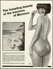1960s vintage ad for Vacation in Morocco  -050912