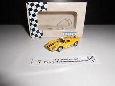 Bouèbe 1:87: 08105 GT 40, jaune-noir, Edition 2012, neuf dans sa boîte