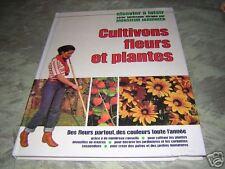 cultivons fleurs et plantes dirigée par mr jardinier