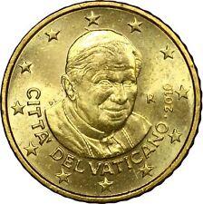 0,50 CENT EURO CITTA' DEL VATICANO - PAPA BENEDETTO XVI 2011 MOLTO RARA