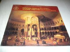 ANDRE PREVIN HAYDN: SYMPHONY LETTER V & THE MIRACLE LP Sealed Angel S537274 1977