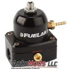 Fuelab Fuel Pressure Regulator adjustable FPR -6 in out Fuel Lab Black 51502