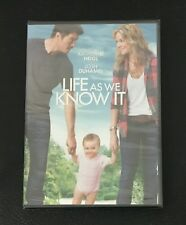 Life As We Know It DVD  Katherine Heigl, Josh Duhamel, Josh Lucas NEW SEALED