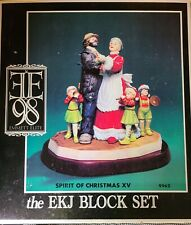 Emmett Kelly Jr Clown Mrs Claus Spirit Of Christmas XV Figurine 0990 OF 1500 COA
