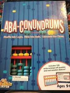 Aba-conundrums: Abucus Puzzles