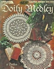 Doily Medley Delsie Rhoades Crochet Instruction Pattern Book Leisure Arts 2556