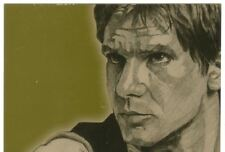 Star Wars Galaxy 4 Gold Foil Chase Card #3 Han Solo