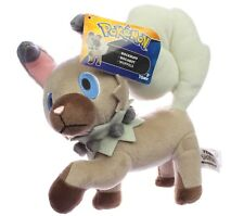 "Rockruff Pokemon 8.5"" Takara Tomy 2017 Soft Plush ""NEW"""