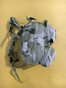 "Hot Toys 1/6 Scale US Army DEVGRU 2.0 Desert Backpack  for 12"" Figure NHW-8 New"
