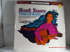 HANK SNOW -(LP)- TRAVELIN' BLUES  SONGS FROM COUNTRY MUSIC'S EARLY DAYS RCA-1966
