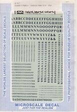 87-94-7 Alphabets & Numbers Condensed Gothic Style-BLUE