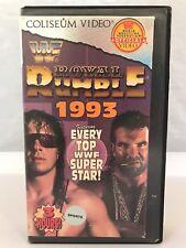 WWF Royale Rumble 1993 Randy Savage Ric Flair Razor Ramon Bret Hitman Hart WWE